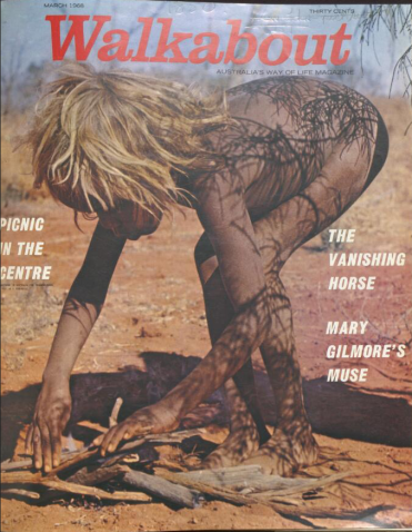 Noel Wallace (1968) cover of Walkabout March 1968