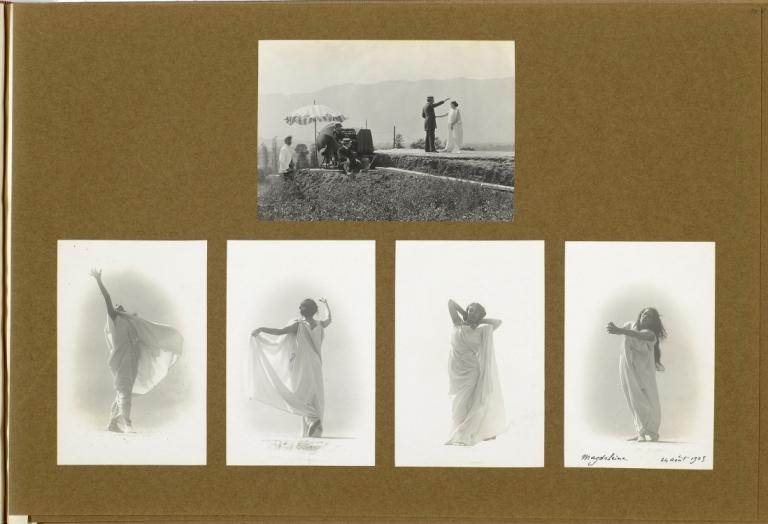franc3a7ois-frc3a9dc3a9ric-dit-fred-boissonnas-photographies-de-lalbum-boissonnas-1903-1904-magdeleine-g-hypnotisc3a9e-par-emile-magnin-1902-1904-nc3a9gatif-au-gelatino-bromure-dargent