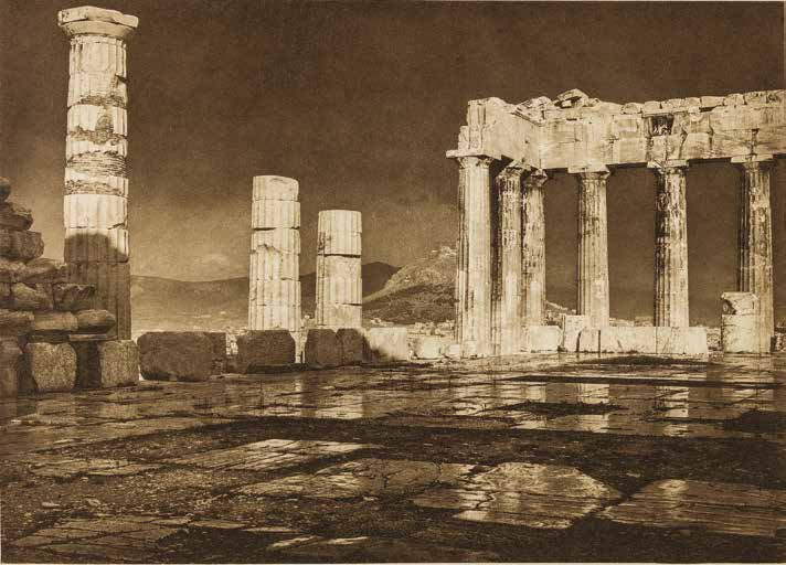 Parthenon After the Storm 1908.