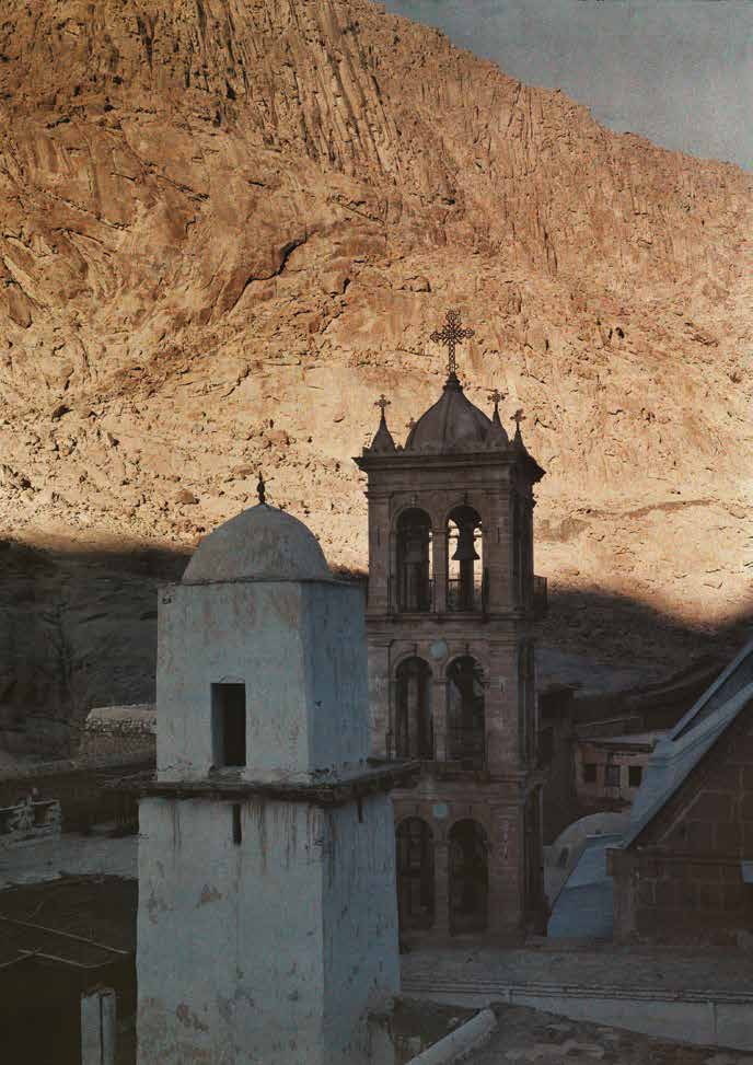 Saint Catherine, Monastery Tower