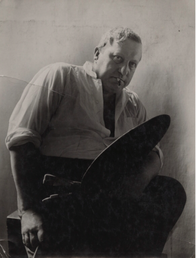 André Derain by Rogi André (née Rozsa Klein) vintage print, 1939 11 in. x 8 1/2 in. (280 mm x 215 mm) image size Given by Eve Sheldon-Williams, 1984 Photographs Collection NPG x137786