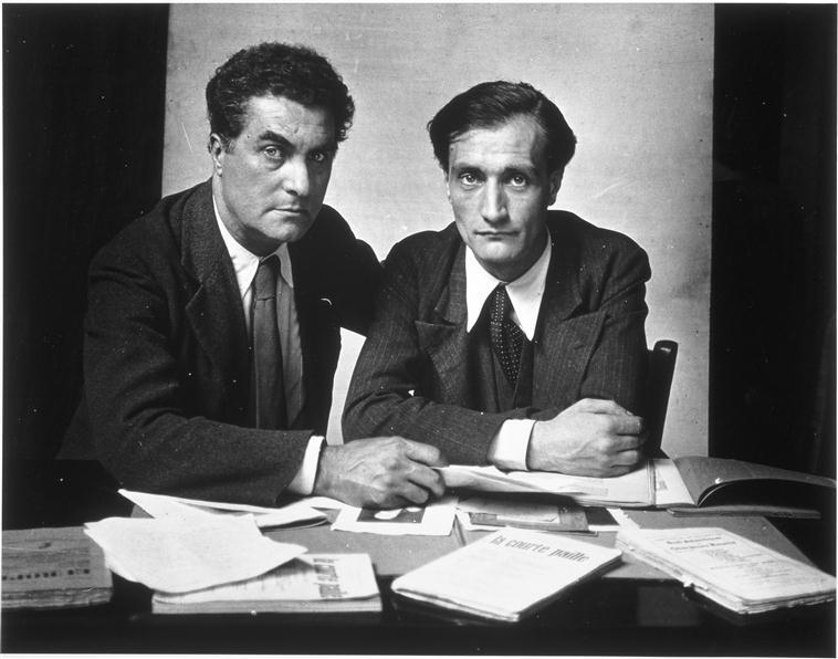 Varèse et Artaud1933