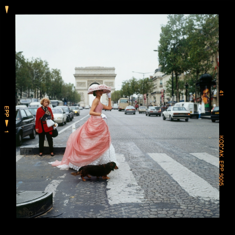 Bronwyn Kidd_1994_Model_Jane Hill_Paris_005
