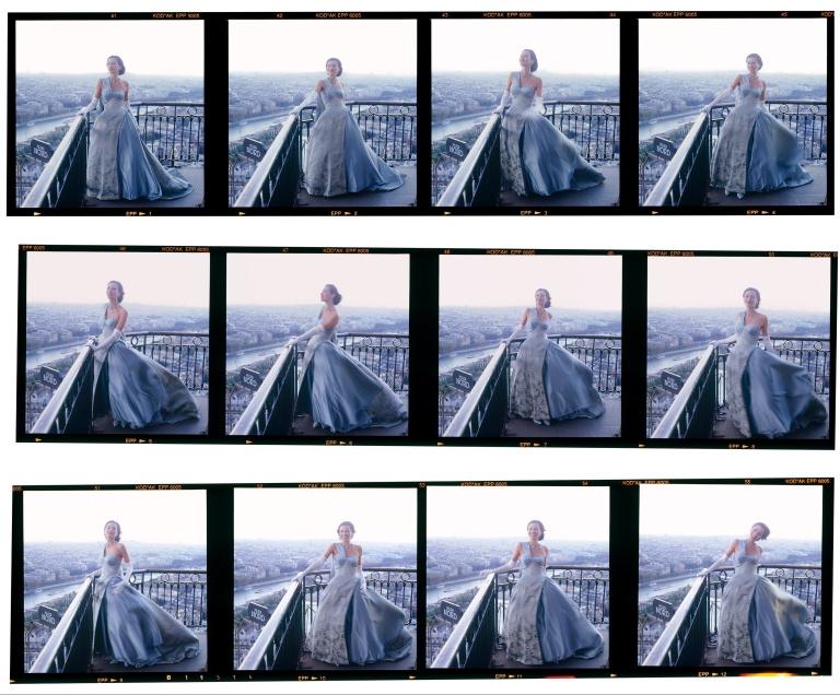 Bronwyn Kidd_Model 2nd Etage Eiffel Tower Paris_1995