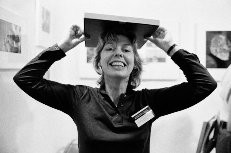 G.B. ENGLAND. Sue Davies director of the Photographer's Gallery. 1980.