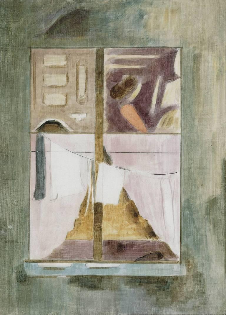 1_Oskar_Schlemmer_Am Fenster_Fensterbild_IX_1942_vdhMuseum