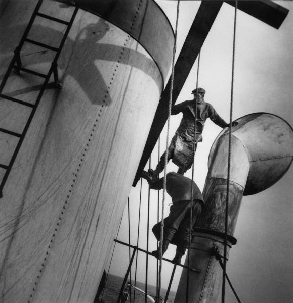Nettoyage cheminée Vikings, 1939