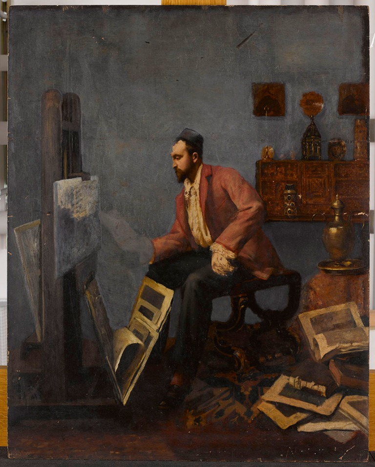 Alphonse Osbert, Antonin Personnaz, vers 1882, Paris Musée d'Orsay