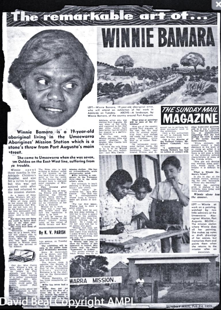 Bamara clipping 1959