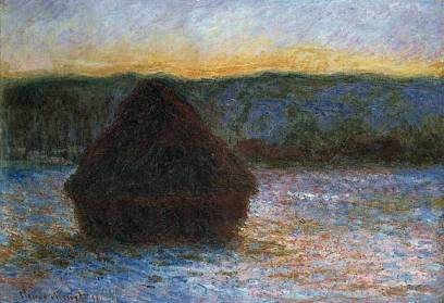 Claude Monet (1890-191O) Meule, oil on canvas
