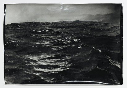 Ash Garwood (2020) Bitter lake, from the series Common Fault, gelatin silver print 106 x 127 cm, courtesy of the artist