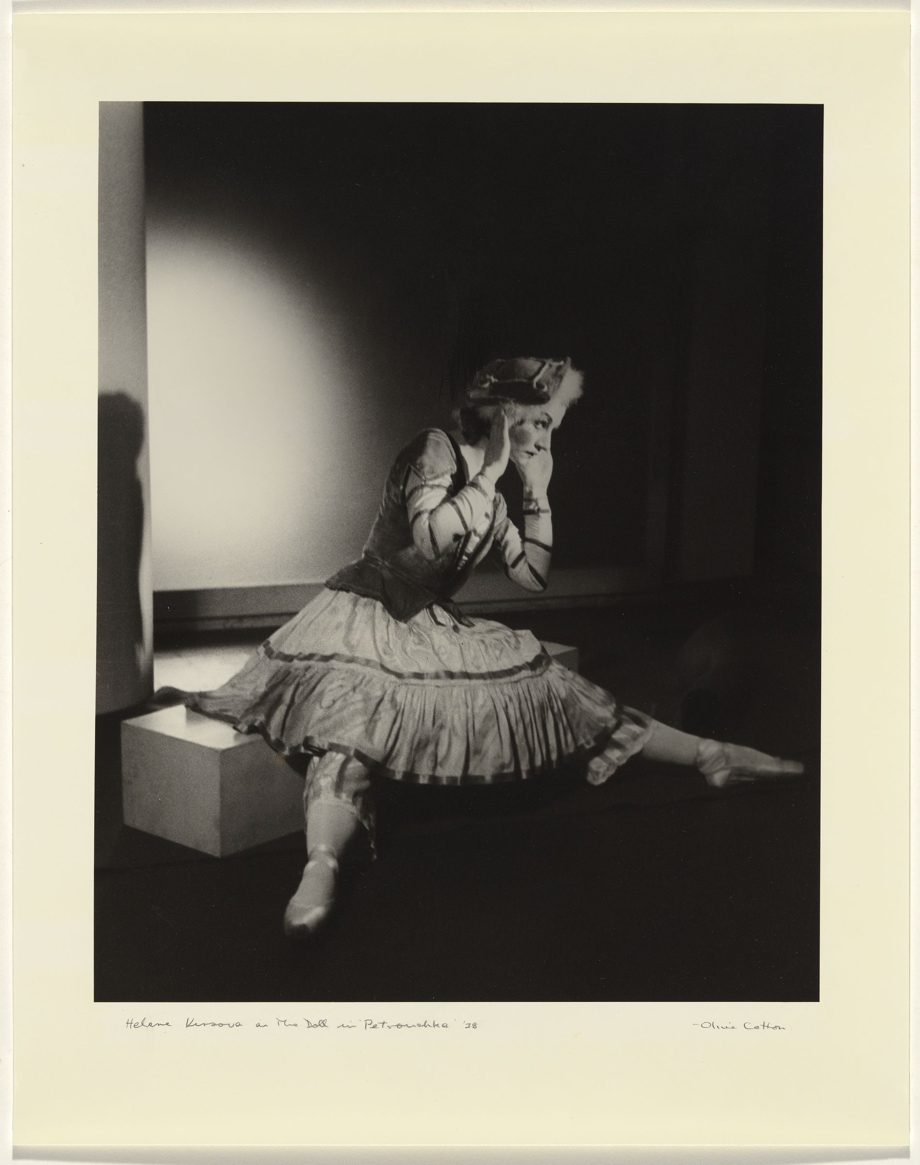 Helene Kirsova as The Doll in Petrouchka' 1938 prtd 1984