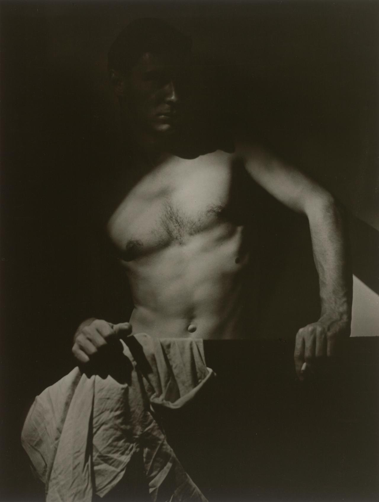 Max after surfing (1939); printed (1998) NGV