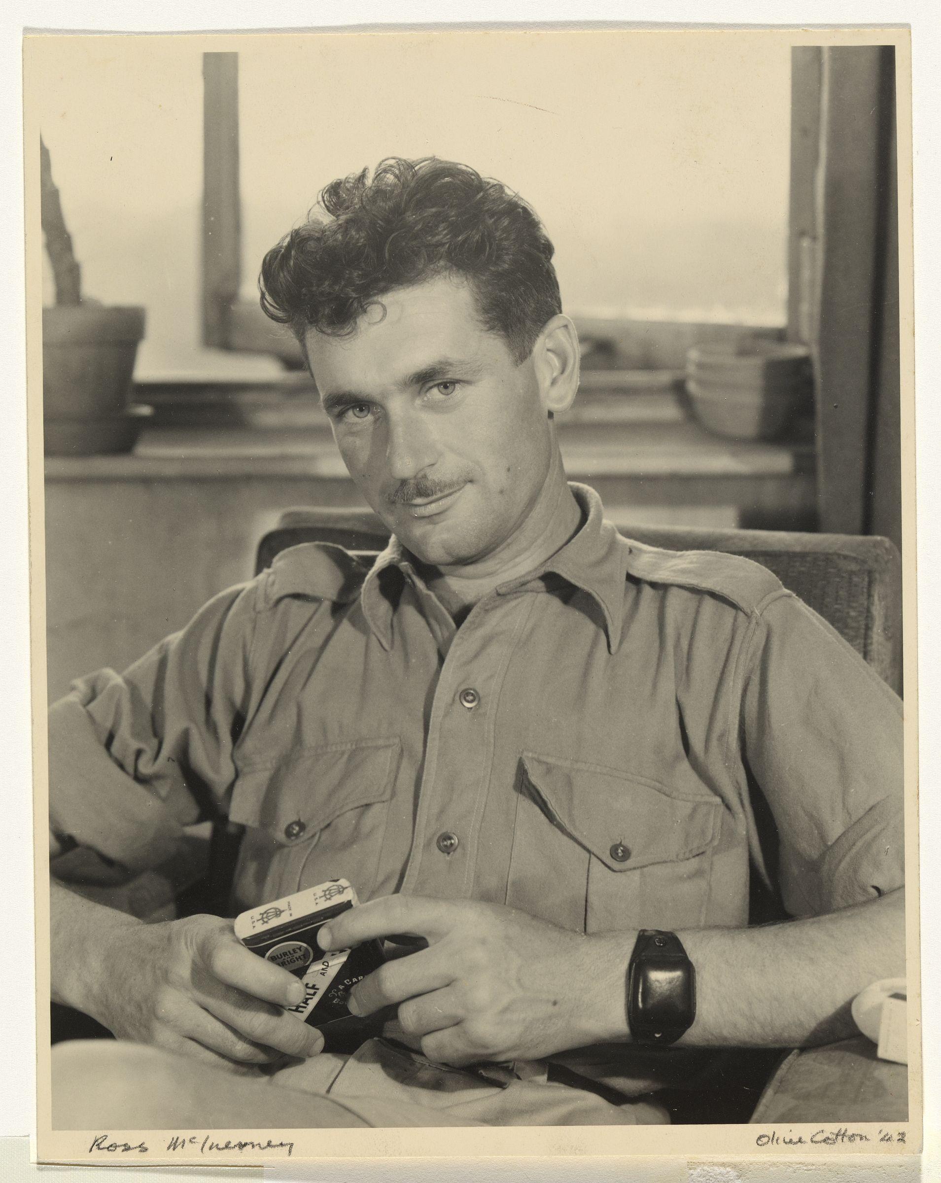 Ross McInerney 1942