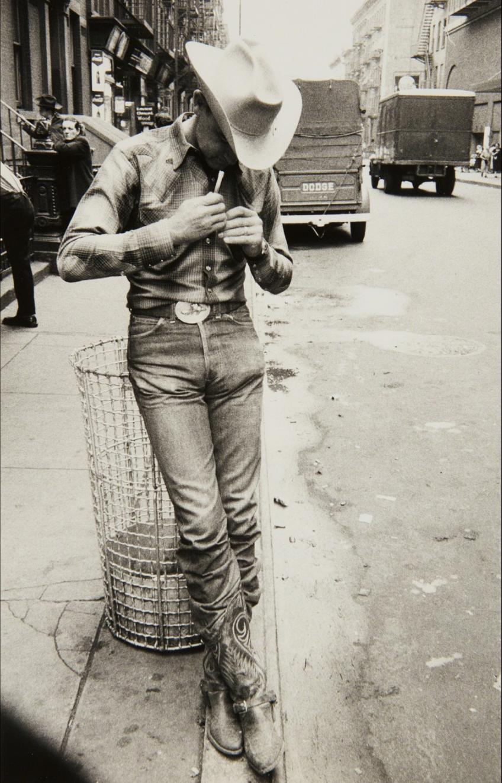 Robert Frank (1954) Rodeo - New York City, Gelatin silver print, printed no later than 1957, 30.8 × 19.7 cm