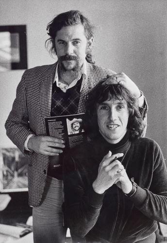 Carol Jerrems Rennie Ellis and Robert Ashton, 1976 gelatin silver print