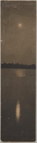 Clarence H. White (ca. 1897) Platinum print 20 cm x 5.2 cm