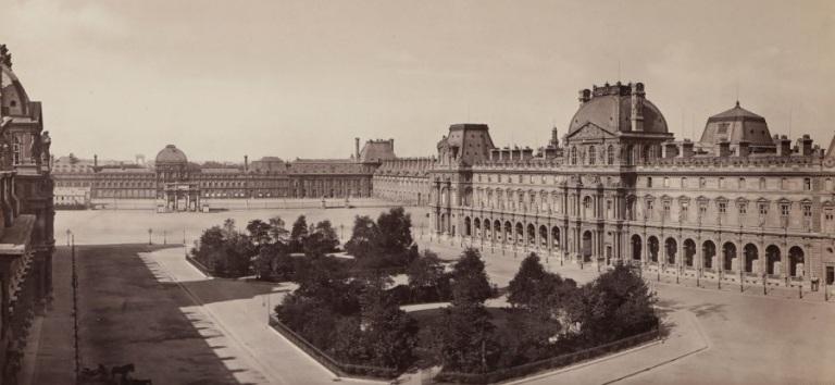 frédéric-martens-le-louvre-et-les-tuileries-(vue-prise-du-louvre)