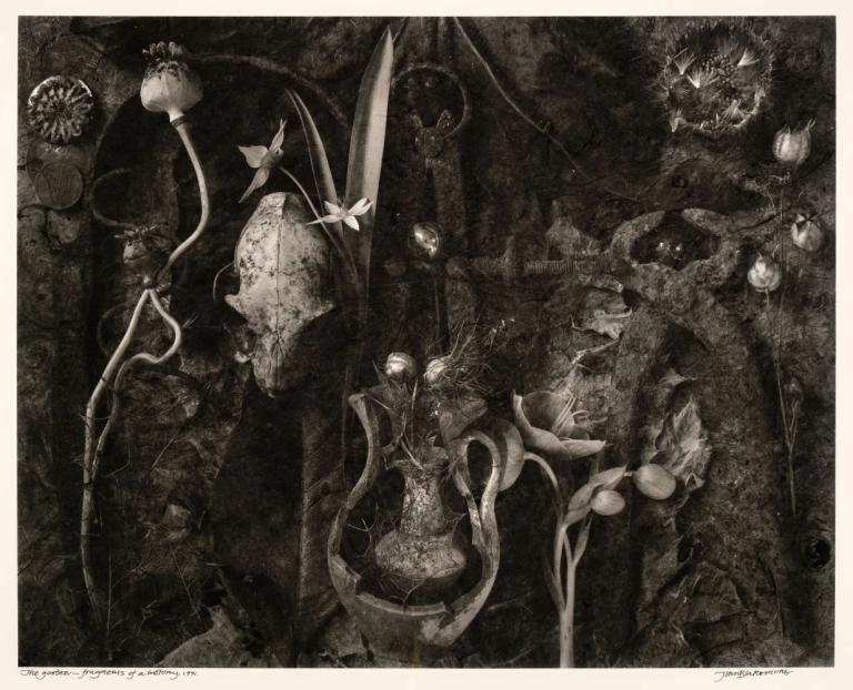 John Blakemore The Garden - Fragments of a History, 1991 gelatin silver print 31.5 x 40 cm