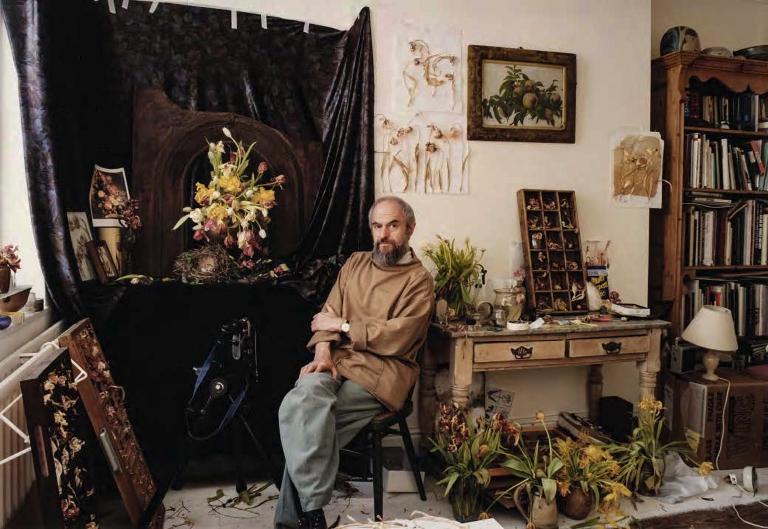Sadler Richard, 1927-2020 John Blakemore at Home, circa 1990s, C-print 27 x 39cm-Enhanced